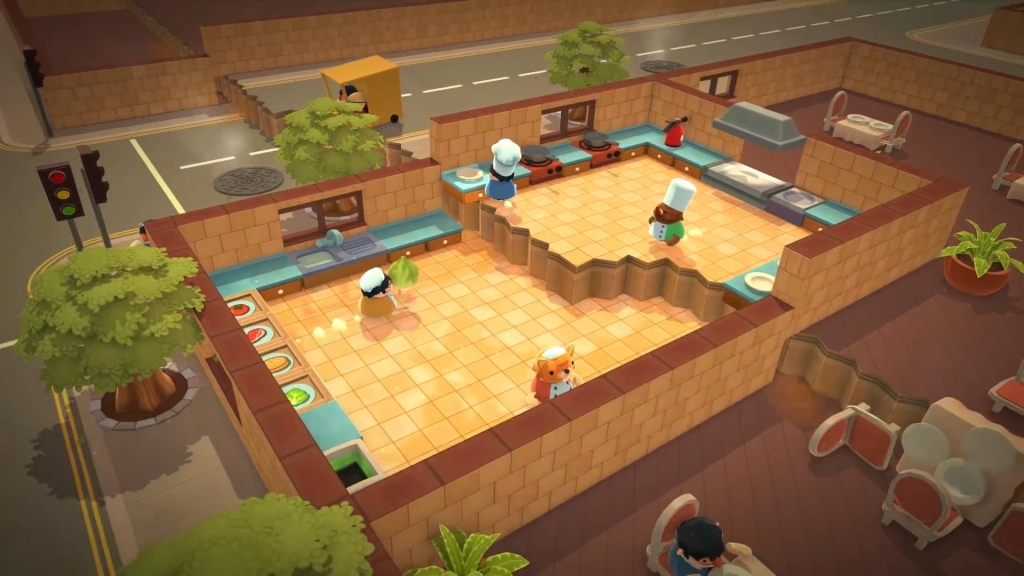 Featured video: Overcooked Announcement Trailer