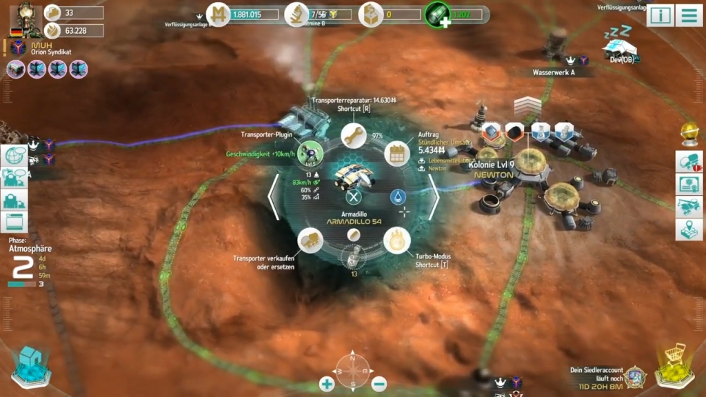 Featured video: Mars Tomorrow Gameplay Trailer