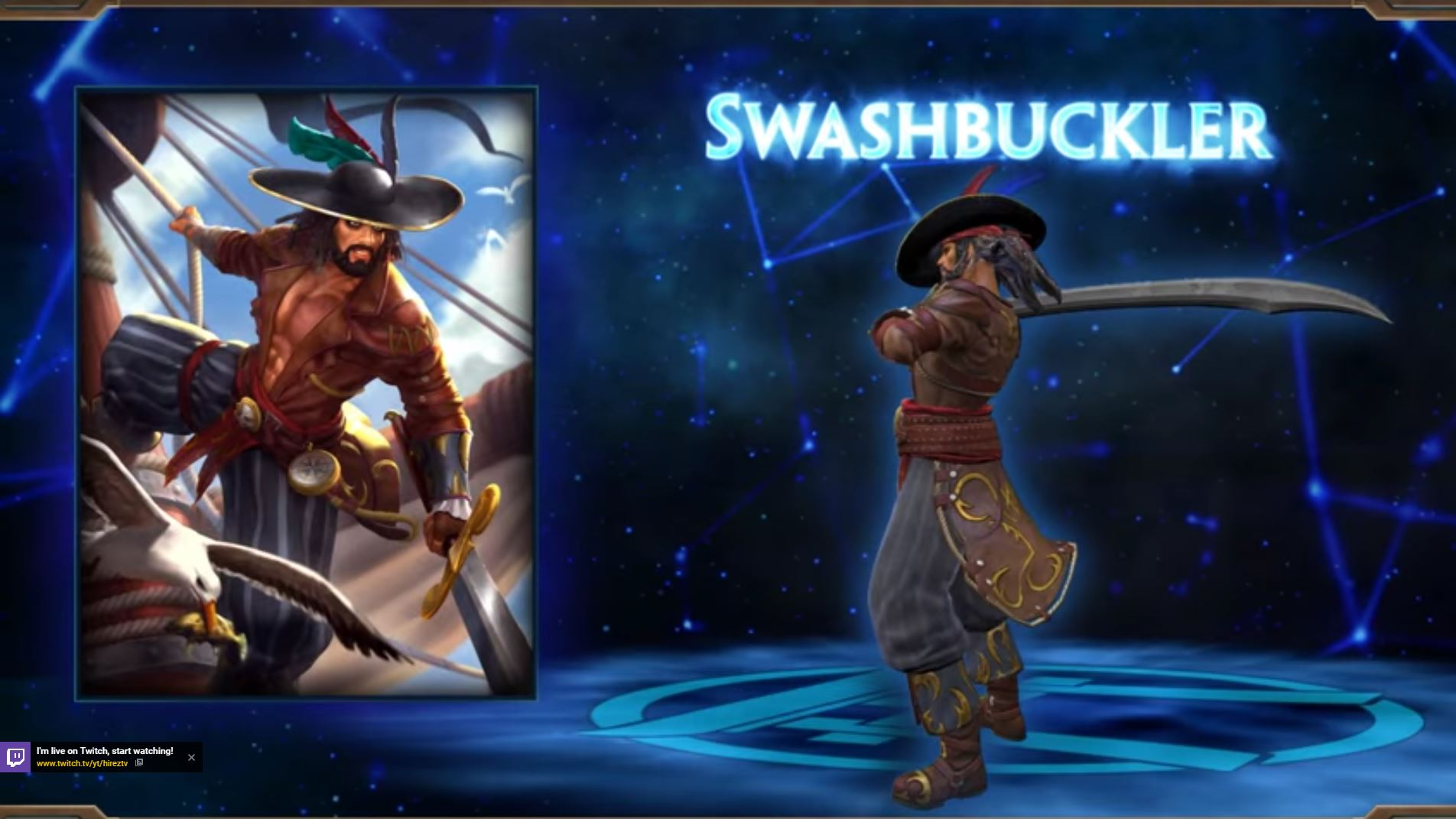 -SMITE - New Skin for Susano - Swashbuckler - YouTube