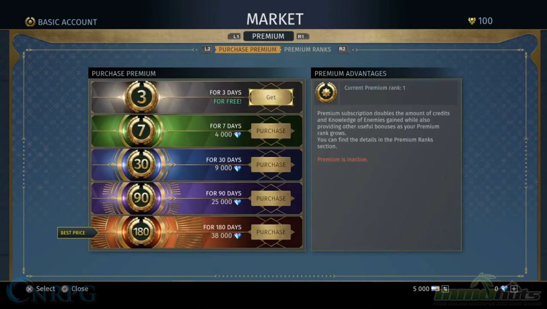 Skyforge Money Spending
