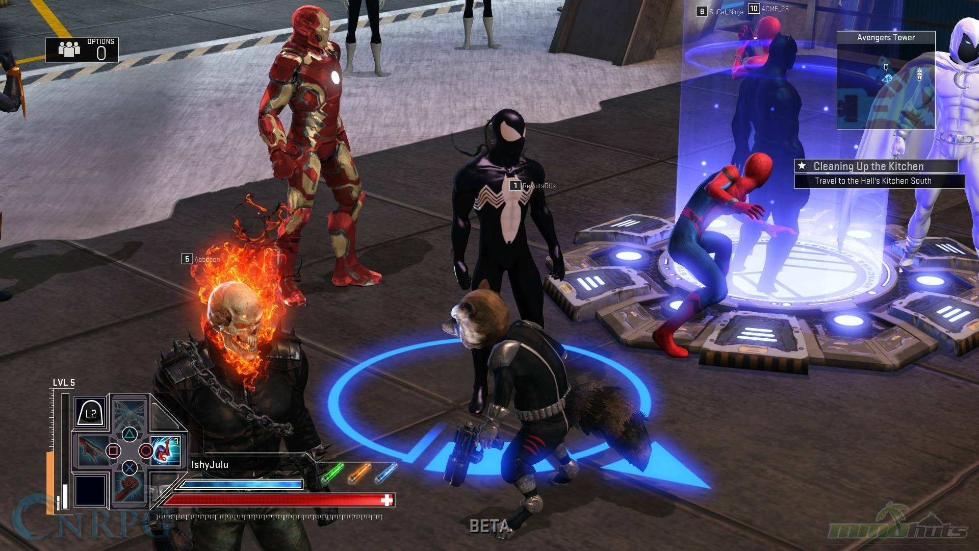 Marvel Heroes Omega - Close Up