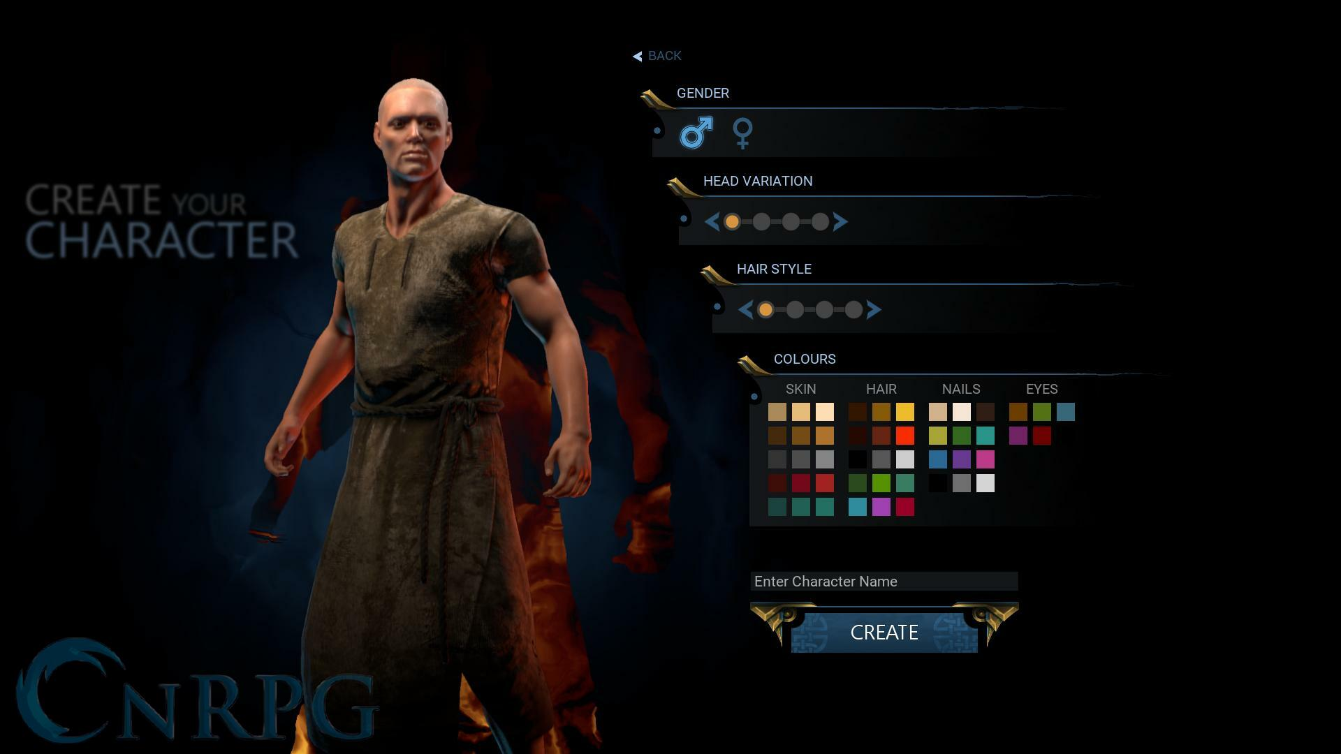 Citadel: Forged with Fire Preview Screenshot Character Creation