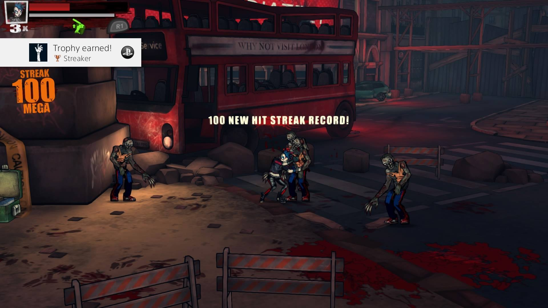 Bloody Zombies - 100 Streak