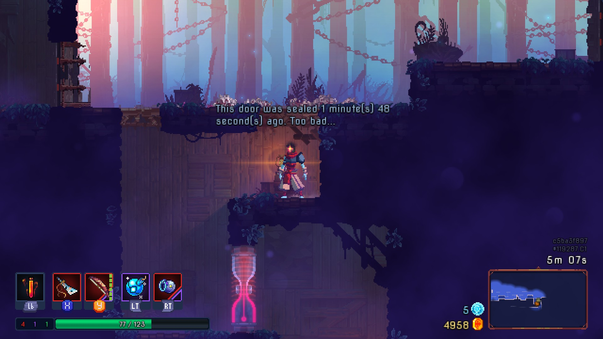 Dead Cells Preview 5 - Timed Doors