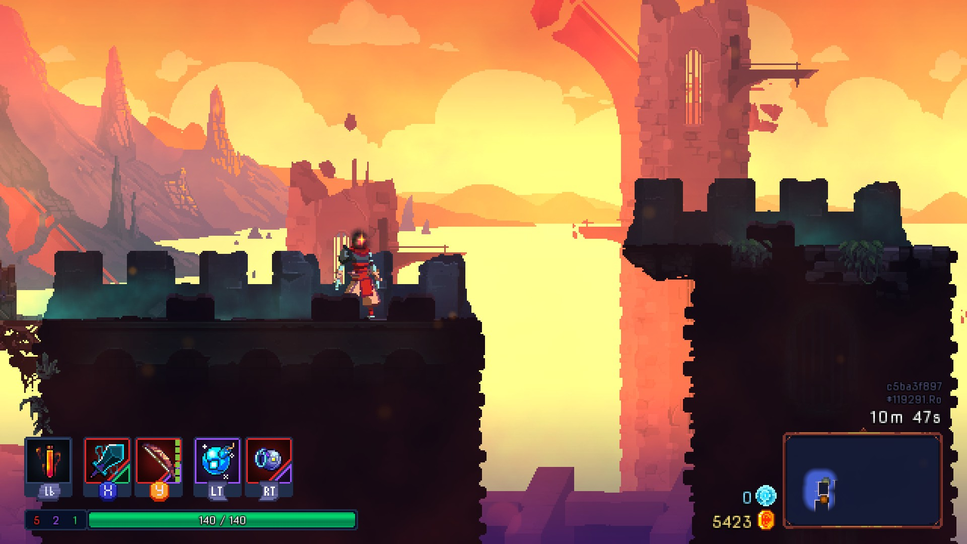 Dead Cells Preview 7 - Skyline