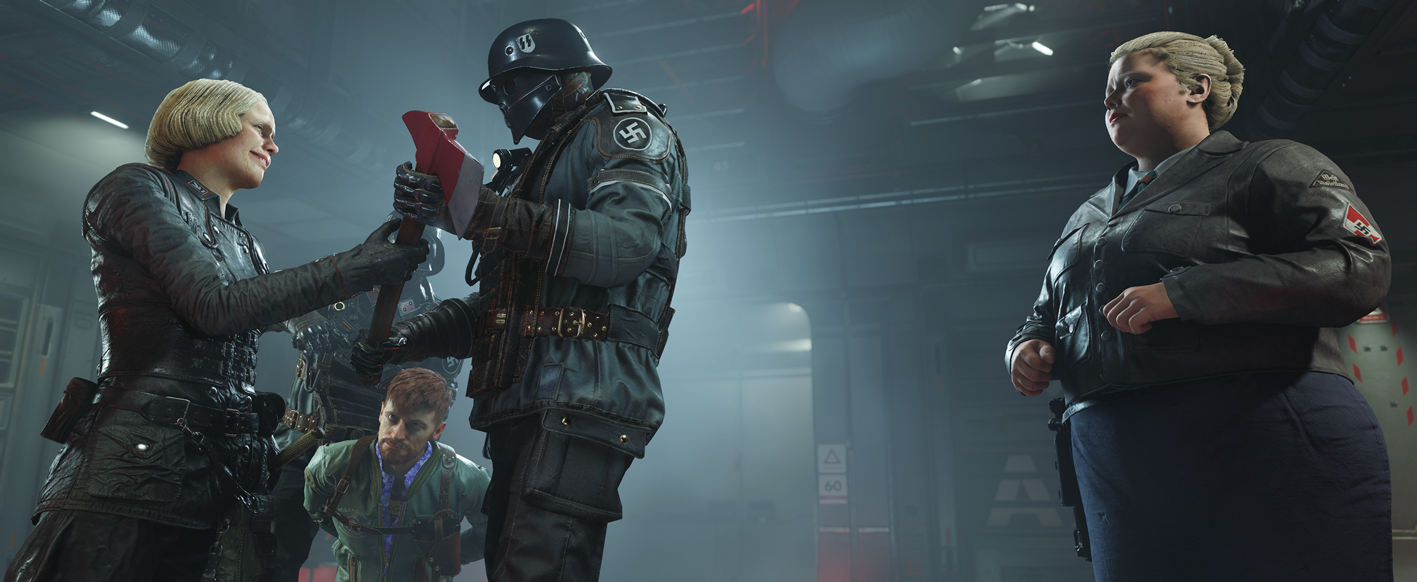 Wolfenstein 2 - The New Colossus - Engel