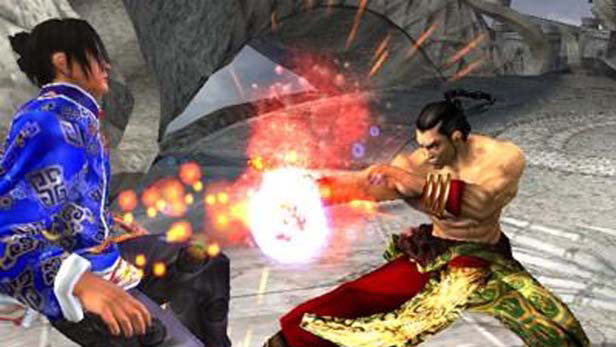 Tekken 5 Official Screenshot 1