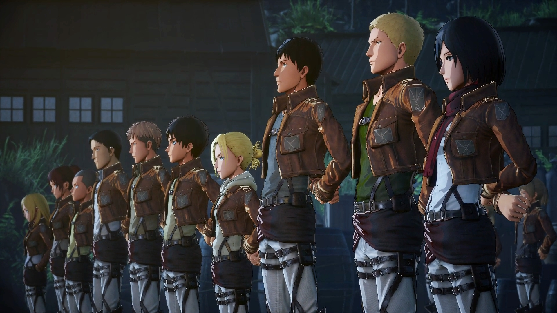 Attack on Titan 2 Characters Screenshot
