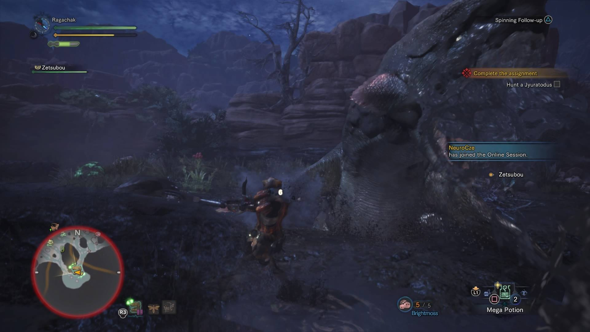 Monster Hunter World - Water Fight