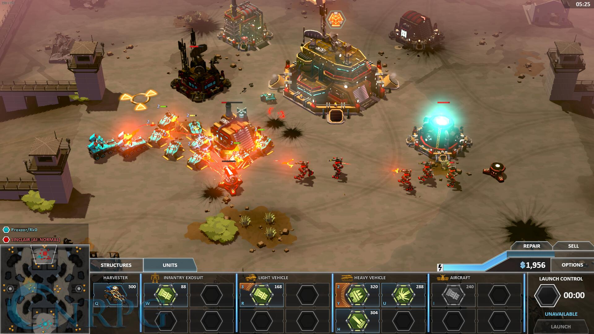 Forged Battalion Screenshot
