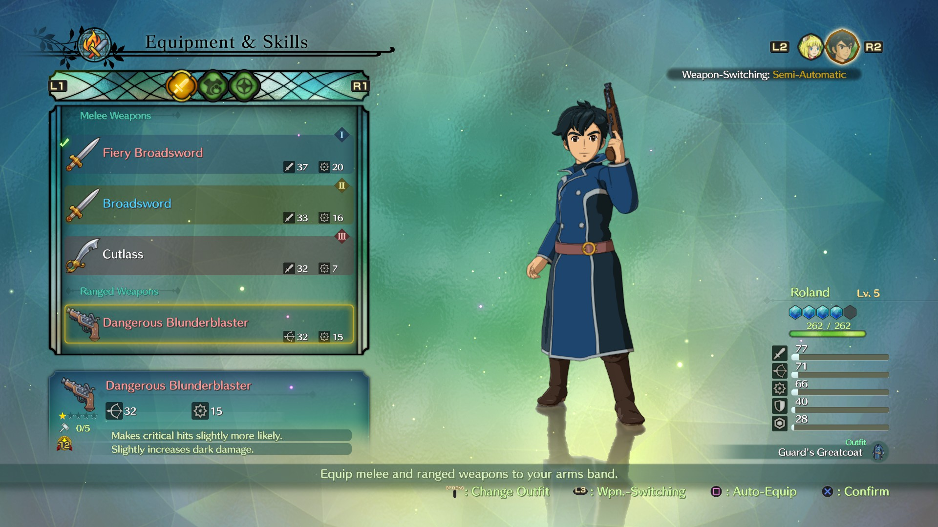 Ni no Kuni 2 Review - Arm Band