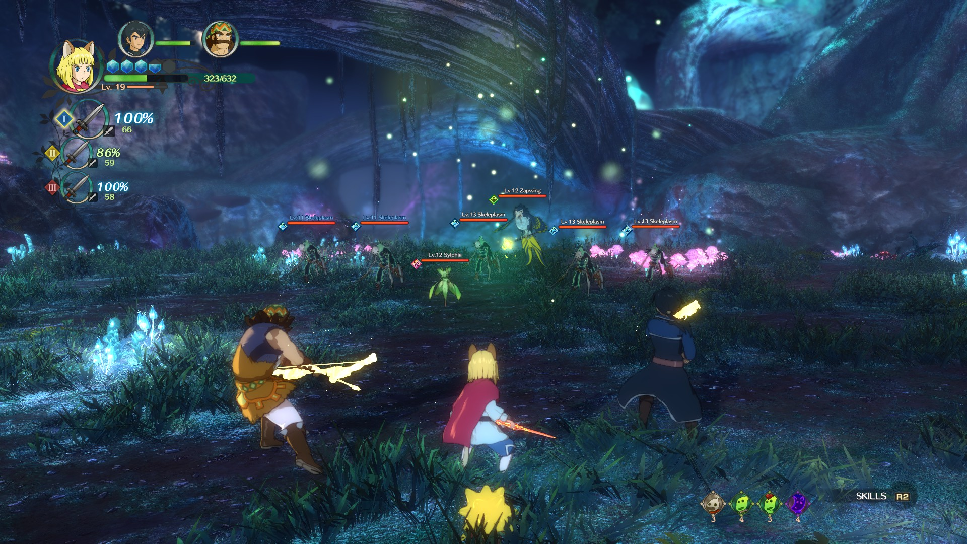Ni no Kuni 2 Review - Combat