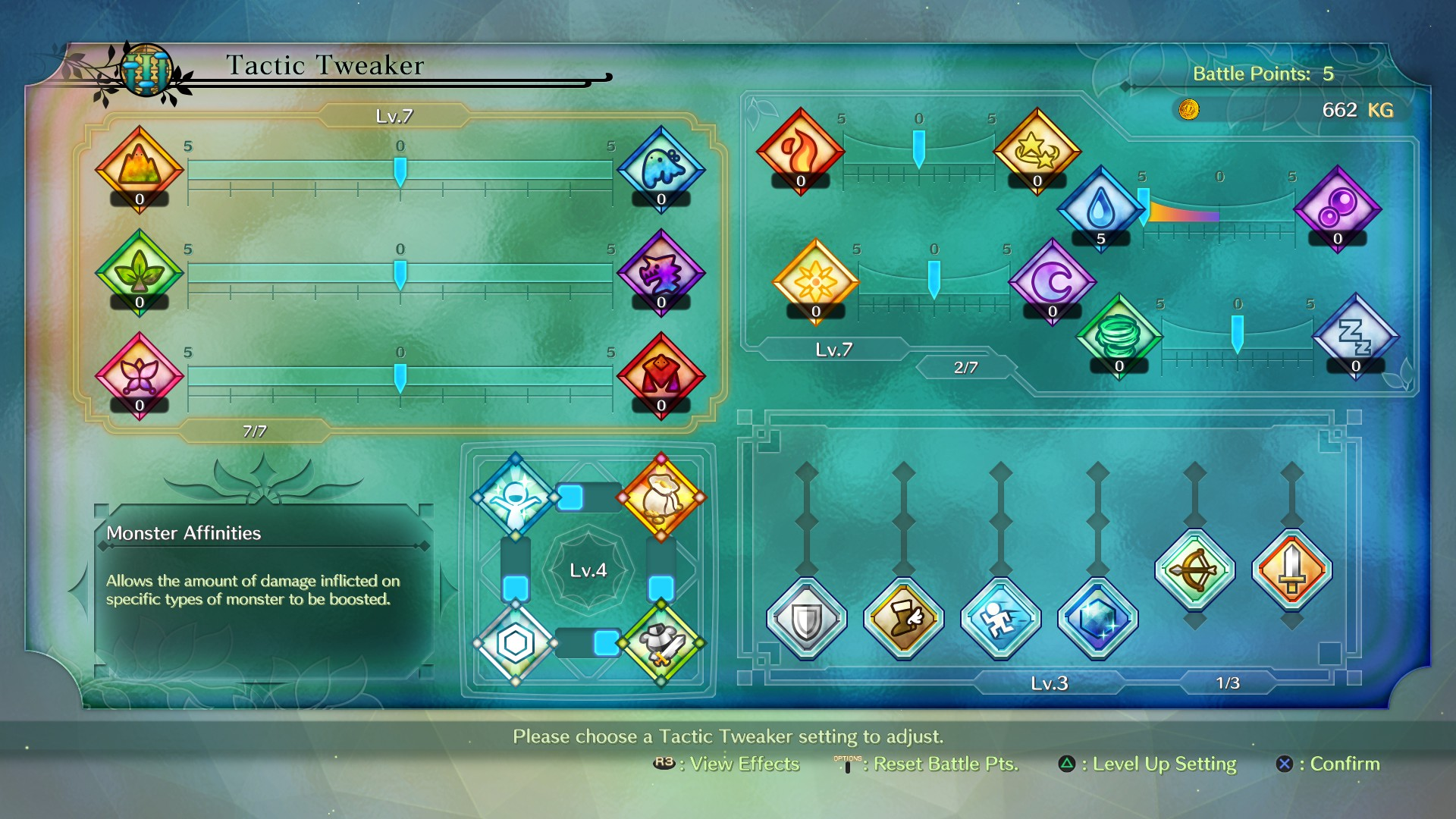 Ni no Kuni 2 Review - Tactics Table