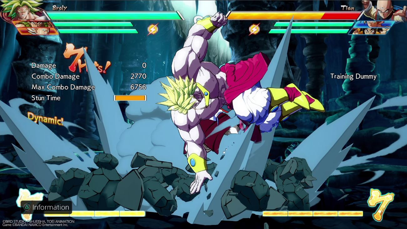 DBFZ - Bardock and Broly 3