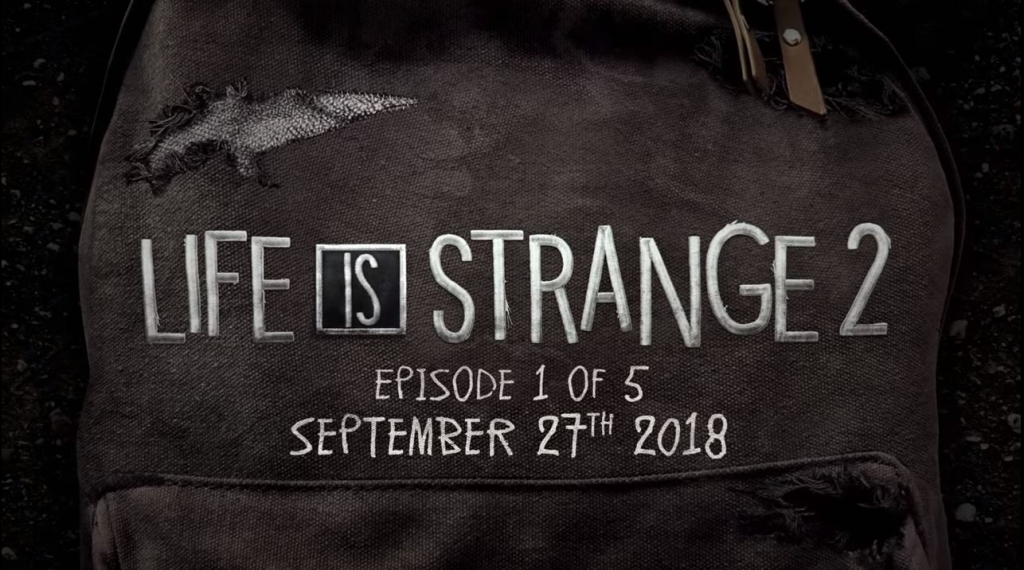 Life is Strange 2 Is Coming in September