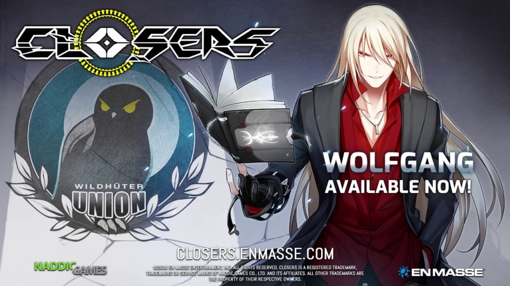 Featured video: Closers' New Character Wolfgang Arrives with German Localization