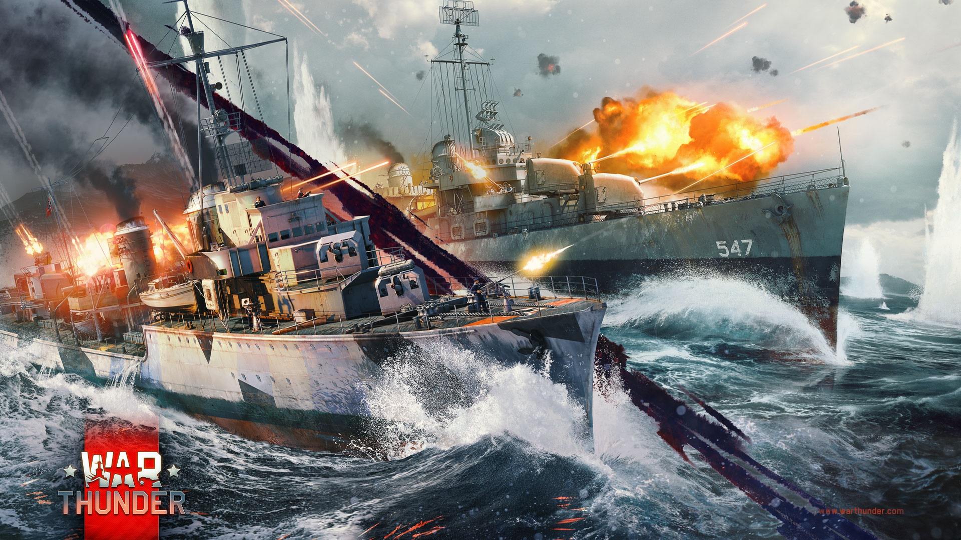 War Thunder Naval Battles CBT