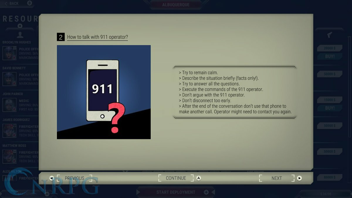 911 Operator Screenshot