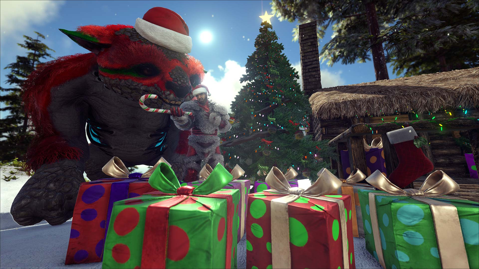 ARK Survival Evolved Winter 2018
