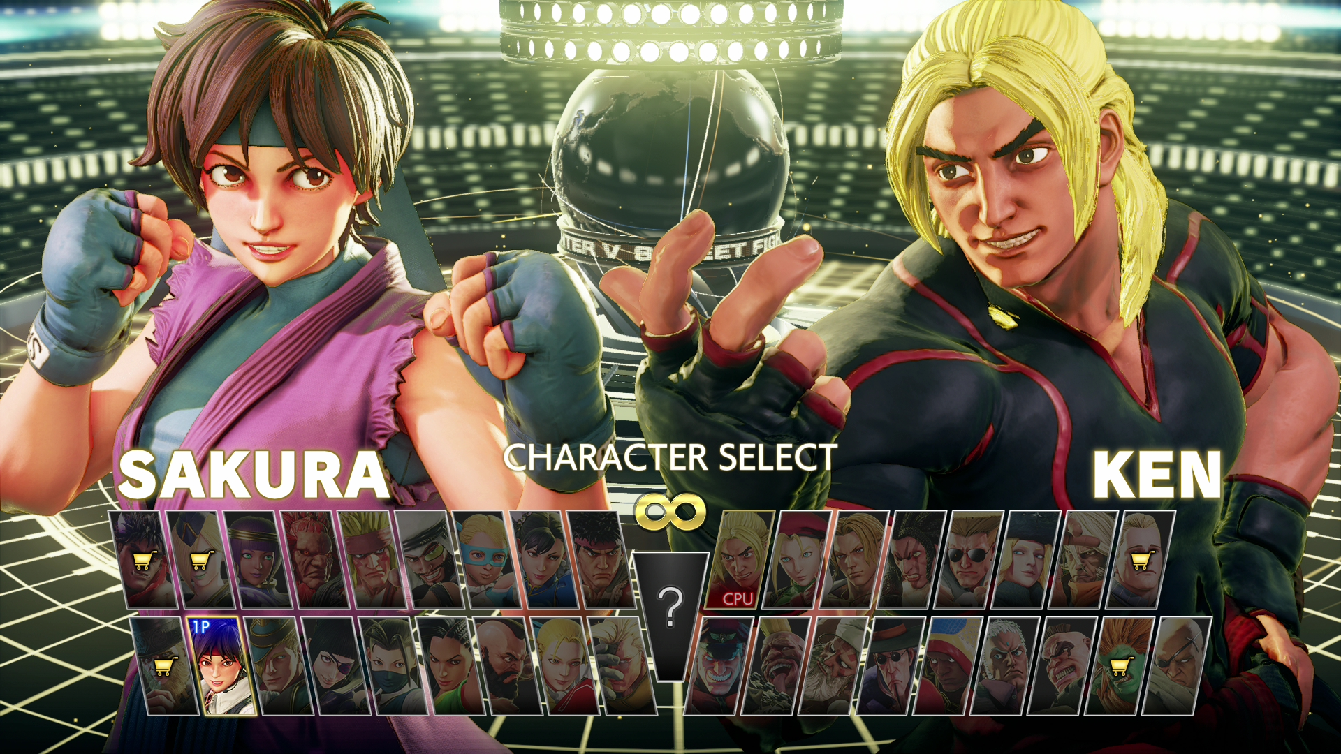 Characters in Fighting Games - 1