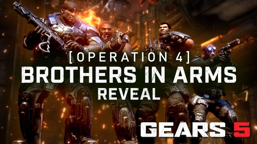 Featured video: Gears 5 Operation 4: Brothers In Arms Trailer