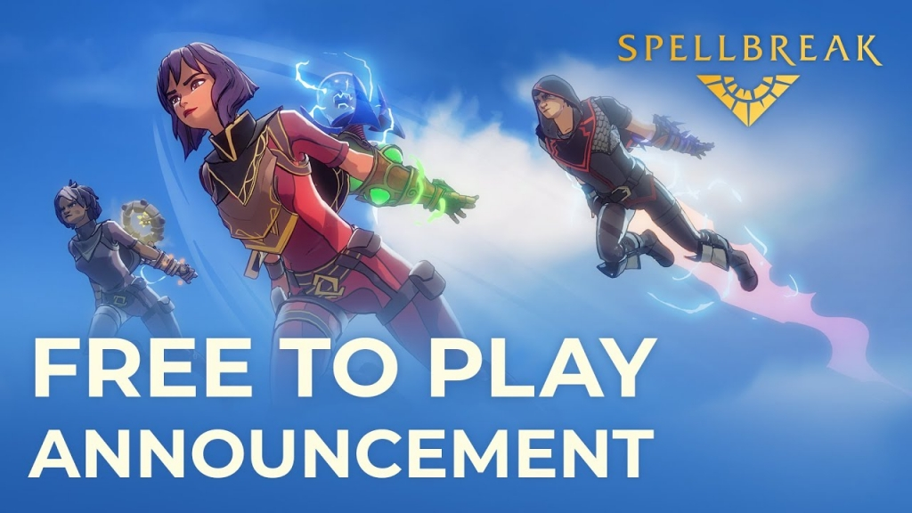 Featured video: Spellbreak Free-to-Play Announcement