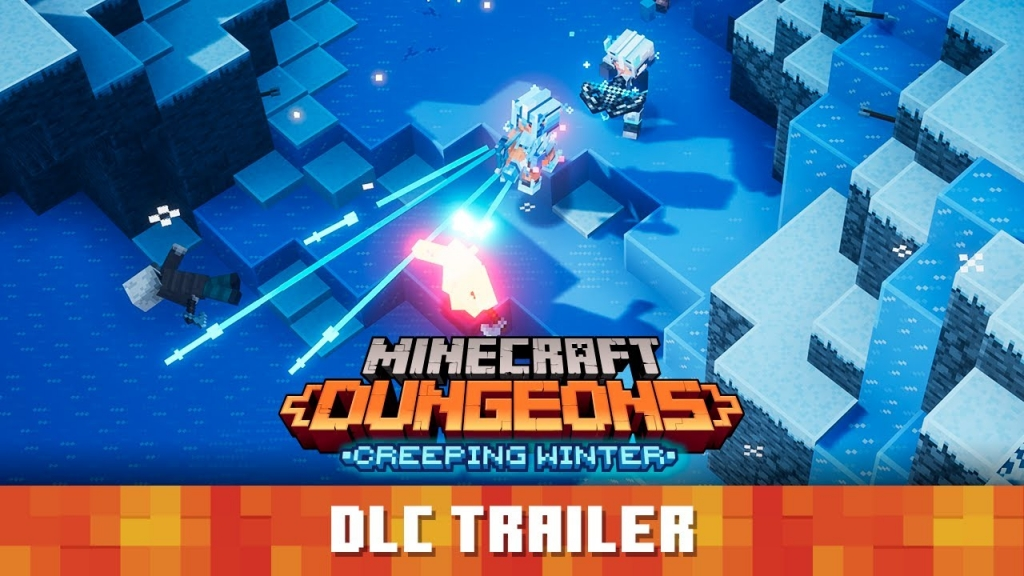 Featured video: Minecraft Dungeons: Creeping Winter Launch Trailer
