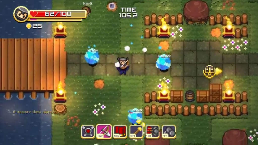 Featured video: Super Treasure Arena – Gameplay Trailer