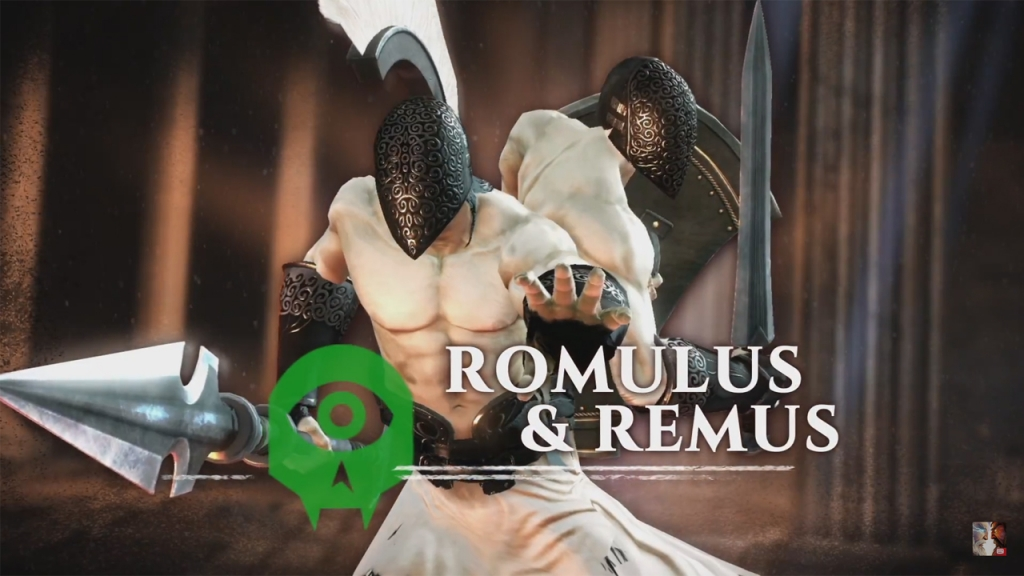 Featured video: Gods of Rome – Romulus & Remus Trailer
