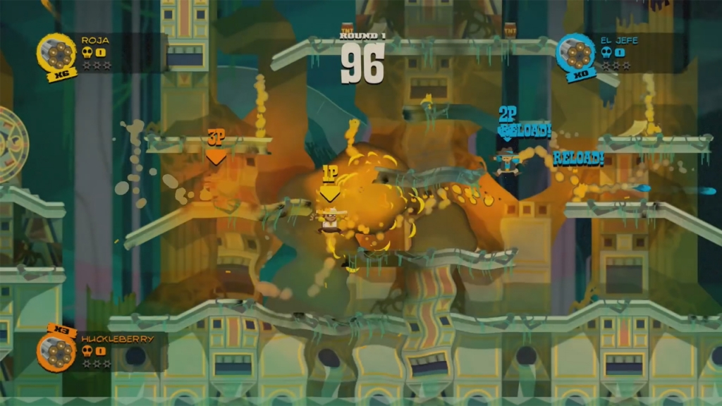 Featured video: Sombrero: Spaghetti Western Mayhem Launch Trailer