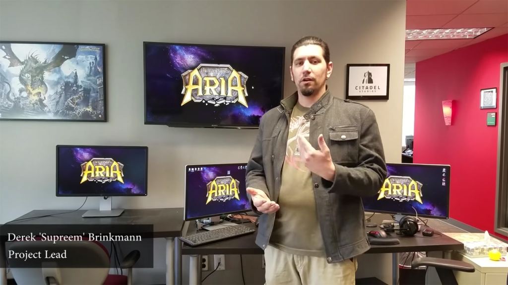 Featured video: Legends of Aria Community Announcement Video