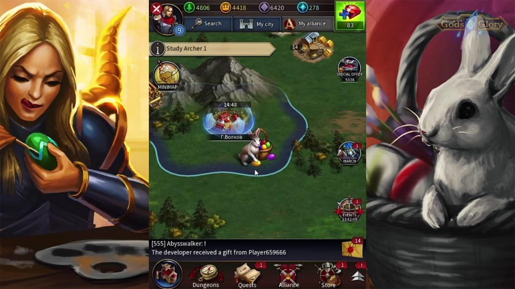 Featured video: Gods and Glory Easter Event Overview
