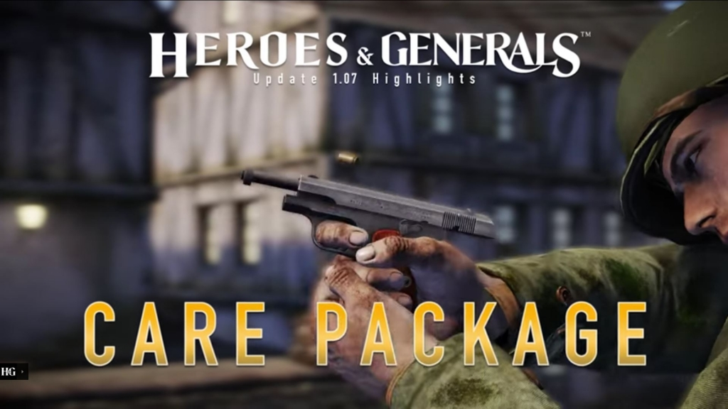Featured video: Heroes & Generals – Highlights: '1.07 Care Package' update