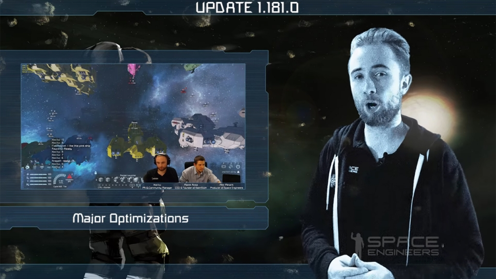 Featured video: Space Engineers Update 1.181 – Major Optimizations and Multithread Physics
