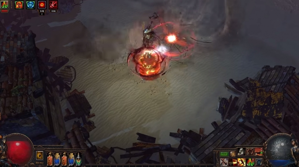 Featured video: Path of Exile: The Fall of Oriath: Garukhan, Queen of the Wind