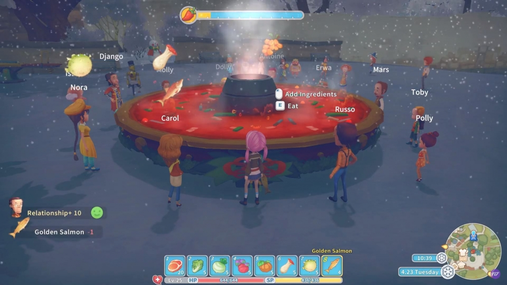 My Time At Portia: Winter Solstice Update Recap