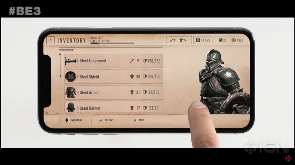 Featured video: Elder Scrolls Blades E3 2018 Demo