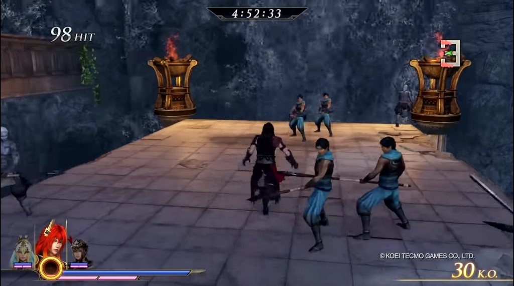 Featured video: Warriors Orochi 4 -Bridge Melee Challenge Mode