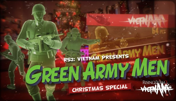 Featured video: Rising Storm 2: Vietnam Goes Green With Toy Soldier Christmas Special