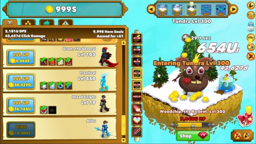Featured video: Clicker Heroes Gameplay Trailer