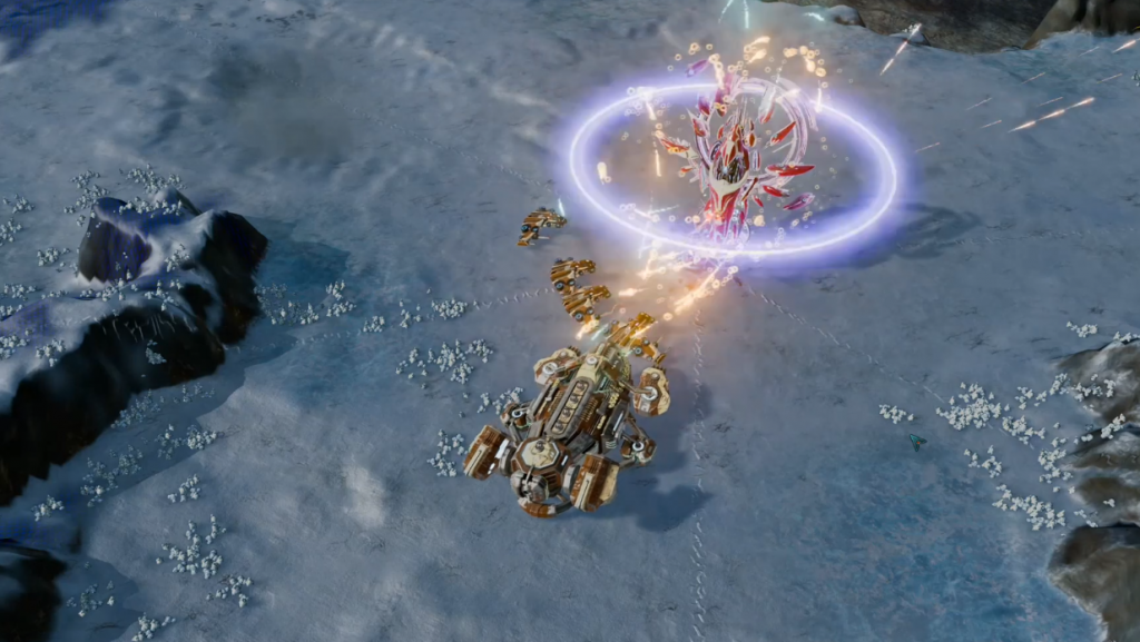 Featured video: Ashes of the Singularity: Escalation – Hunter/Prey Expansion Trailer