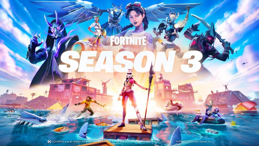 Featured video: Fortnite Chapter 2 – Season 3 Splashdown Launch Trailer